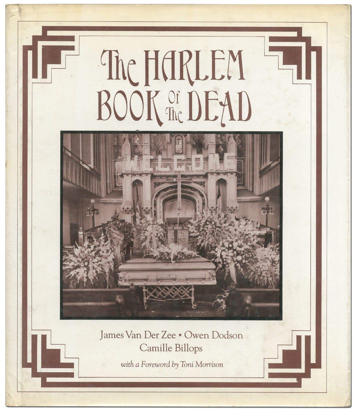 "Image result for Harlem Book of the Dead"""