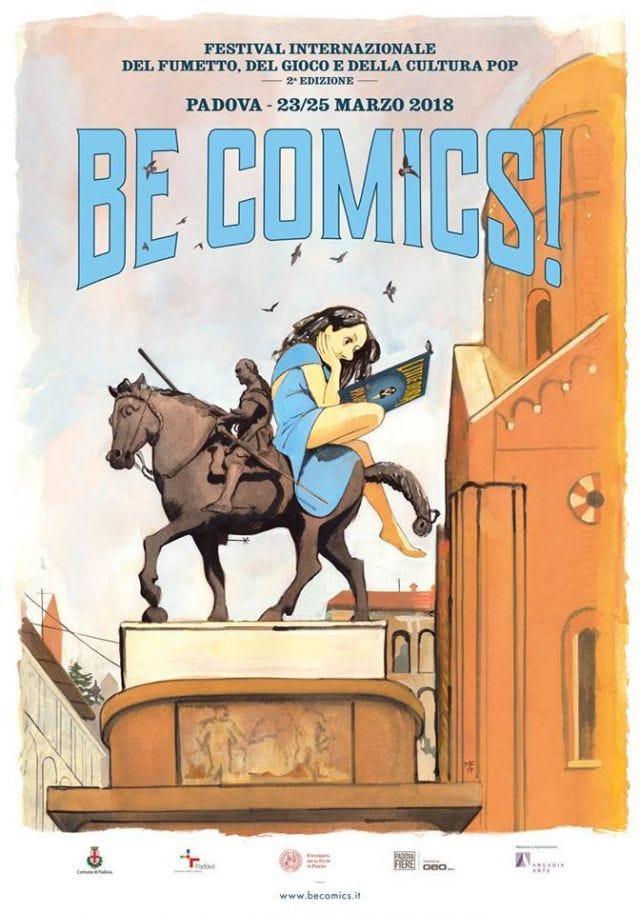Manifesto Be Comics Padova by Manuele Fior