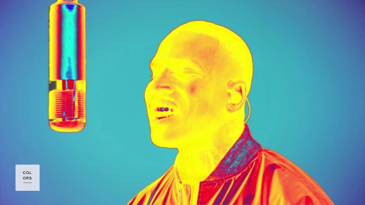 Image result for skepta on colors studio