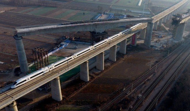 High-speed trains are out of the question for those who have been blacklisted.