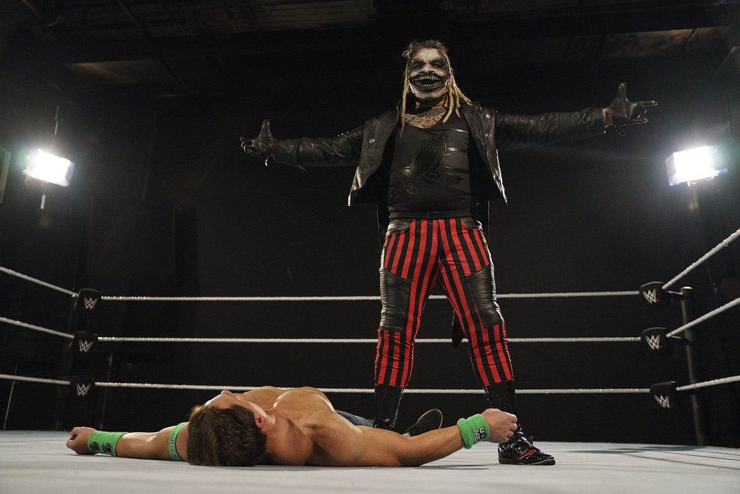 WWE WrestleMania 36 The Fiend Bray Wyatt John Cena