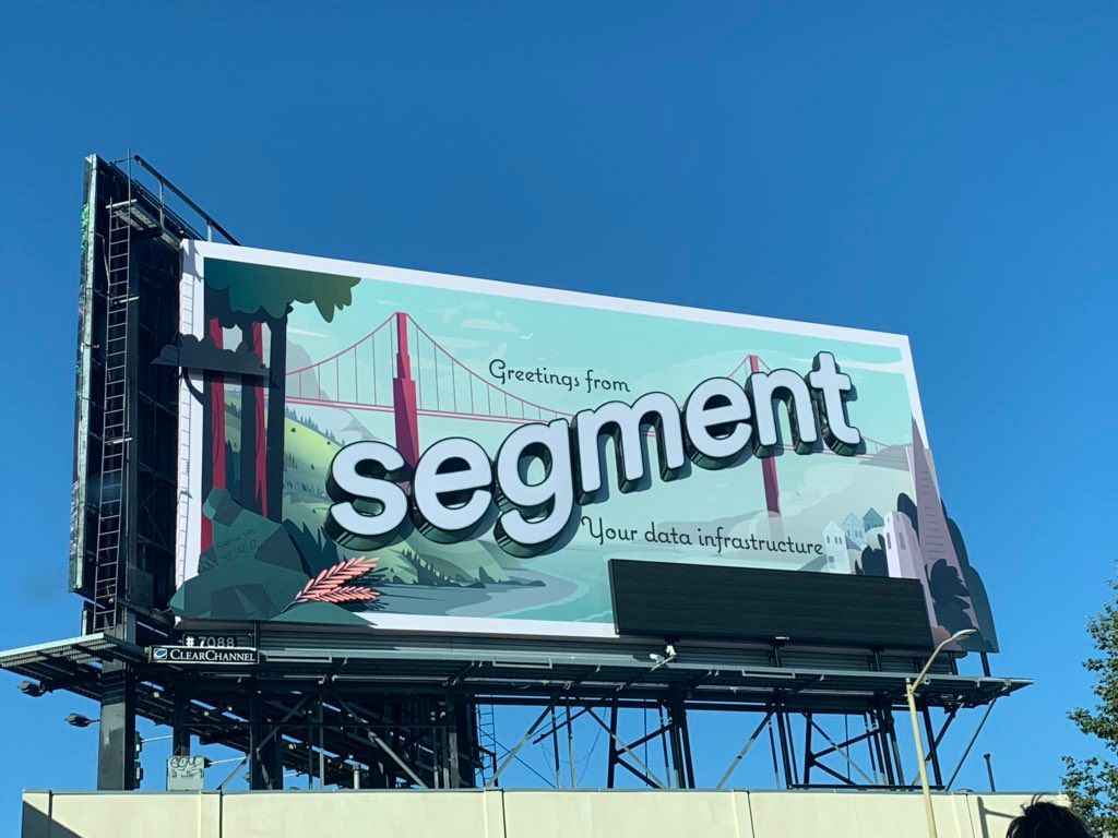 """Maher Sinjary on Twitter: """"@segment's billboard is really looking nice!  Can't wait to see it at night.… """""""