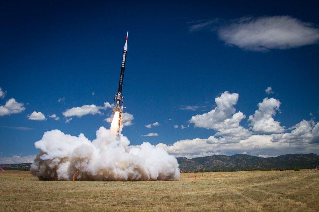 Career Launch: ULA Interns' 50-Foot Rocket Breaks Records   Space