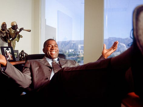 Magic Johnson: Inside his ambitious plans to become a businessman - Sports  Illustrated