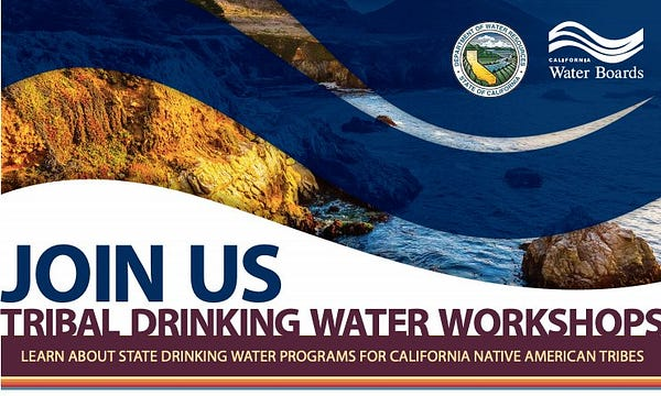 flyer image about tribal drinking water workshops