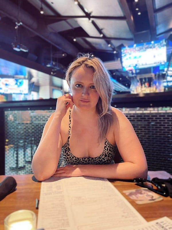 Nat in a bar