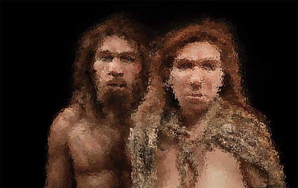 Blurry Neandertals