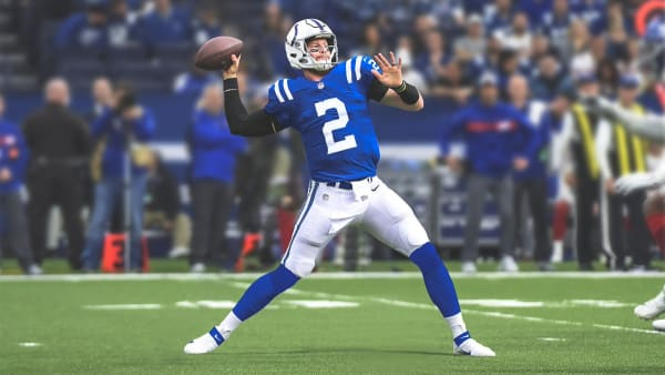Carson Wentz in a Colts uniform