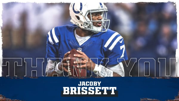 Thank you, Jacoby Brissett