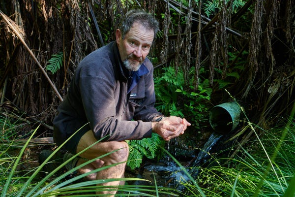 'I'm a forest starter. I'm helping to create a forest that can be managed as a sustainable resource forever.'  Ian Brennan, Farmer.