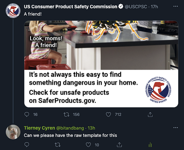 my reply to the US Consumer Product Safety Commission: https://twitter.com/bitandbang/status/1382159646929133568?s=20