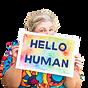 Hello Human by Rachel Klaver