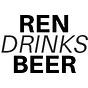 Ren Drinks Beer