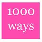 1000 ways to feel more okay