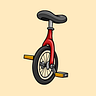 Unicycle by Alex Grintsvayg