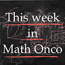 This week in Mathematical Oncology