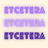 Etcetera by Nicola Thomas