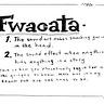 FWACATA's Newsletter