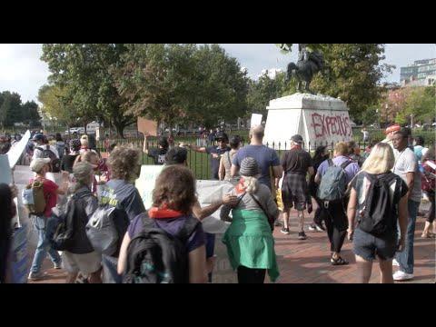 Activism Uncensored: 400 Arrested as Environmentalists Target Biden