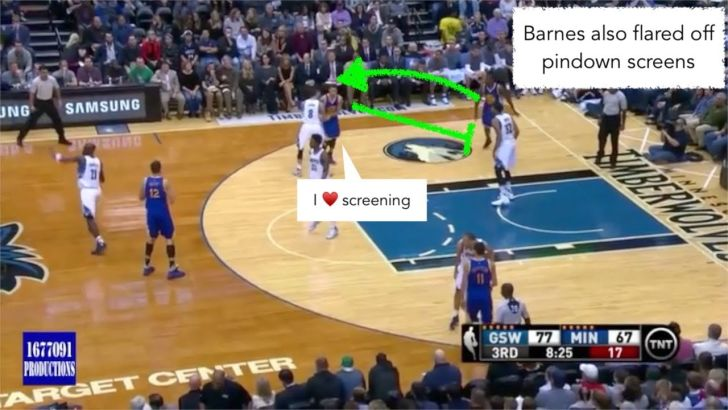 Explain One Play: Andrew Wiggins Tries Out The Harrison Barnes Playbook